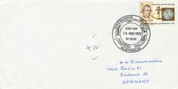AAT -  AUSTRALIAN ANTARCTIC TERRITORY  -  MACQUARIES  -  19 NOV 1972   FD  ,  James Cook - Brieven En Documenten