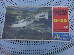 Maquette Avion Militaire--en Plastique-1/48-.ref Italeri Ref 814 Cessna Skymaster 0-2 A - Airplanes