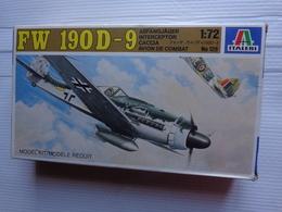Maquette Avion Militaire--en Plastique-1/72.ref Italeri Ref  128 -fw 19 D-9 - Airplanes