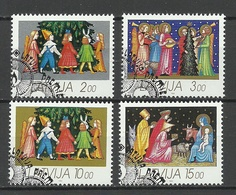 LATVIA Lettland 1992 Michel 344 - 347 O - Lettland