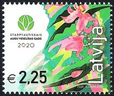 Latvia Lettland Lettonie 2020 (07) International Year Of Plant Health - Lettland