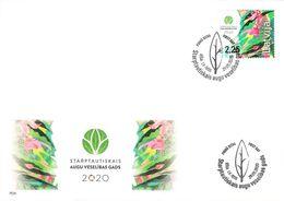 Latvia Lettland Lettonie 2020 (07) International Year Of Plant Health (unaddressed FDC) - Lettland
