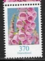 GERMANY, 2019,  MNH,FLORA, FLOWERS, FLOWER DEFINITIVE, 1v - Pflanzen Und Botanik