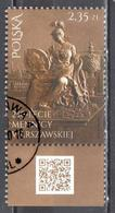 Poland  2016 - Warsaw's Mint Medal Coin - Mi.4817 - Used - 1944-.... Republic