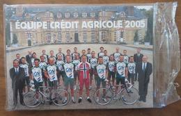 CYCLISME: ÉQUIPE CYCLISTE CRÉDIT AGRICOLE 2005- PHOTOS DES COUREURS SOUS BLISTER- THOR HUSHOVD - Cyclisme