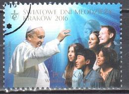 Poland  2016 - World Youth Day Krakow - Mi. 4833 - Used - 1944-.... Republic