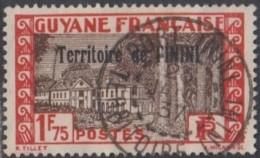 Inini (Territoire De L') - Port-Inini Sur N° 22 (YT) N° 21 (AM). Oblitération De 1937. - Oblitérés