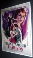 Carte Postale (cinéma Affiche Film) Haine, Amour Et Trahison (Brigitte Bardot) - Posters On Cards