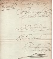 DOCUMENT ANCIEN 1807  SIGNATURE GENERAL D EMPIRE ?? A VOIR ?? GRANDE ARMEE  AUTOGRAPHE - Documents Historiques