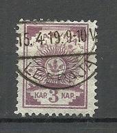 LETTLAND Latvia 1919 Michel 6 A O - Lettland