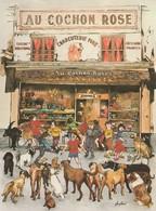 David Miro - Au Cochon Rose - Le Piège Des Plus Grands Voleurs De Saucissons à Montmartre - Illustrateurs & Photographes