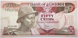Ghana - 50 Cedis - 1984 - PICK 25a.2 - NEUF - Ghana
