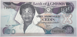Ghana - 100 Cedis - 1986 - PICK 26a.3 - NEUF - Ghana