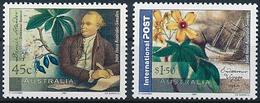 Mi 2074-75 MNH ** Joint Issue Sweden / Scientist, Naturalist, Daniel Solander, Botany, Flowers - 2000-09 Elizabeth II