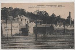 42  Terrenoire  Etablissements G Beaud  Fonderie Trefilerie ...lits Et Sommiers Metaliques.  (2 Scans ) - Autres Communes