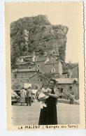 Gorge Du Tarn LA MALENE RARE Village 50s  Snapshot - Lieux