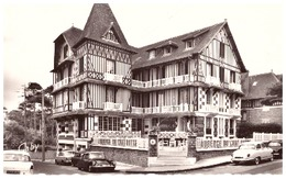58 BIS -CABOURG -AUBERGE DU CHAT BOTTE   CPSM PF   404  DS  ARONDE - Cabourg