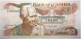 Ghana - 200 Cedis - 1991 - PICK 27b.3 - NEUF - Ghana