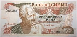Ghana - 200 Cedis - 1992 - PICK 27b.4 - NEUF - Ghana