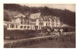 """GRAND  HOTEL  """"BEAU-RIVAGE""""   ANNECY  CARTE ANIMEE - Advertising"""