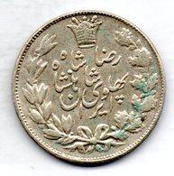 IRAN, 5 Krans (5.000 Dinars), Silver, Year SH 1306 (1927), KM #1101 - Iran