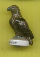 Fève Perso Védère -  Animaux Des  Pyrénées -     L'  Aigle Royal - Tiere