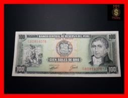 PERU 100 Soles De Oro 9.9.1971  P. 102  XF - - Peru