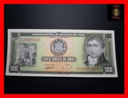 PERU 100 Soles De Oro 15.8.1974  P. 102   UNC- - Peru
