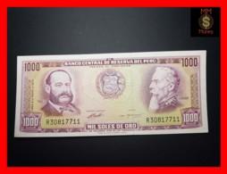PERU 1.000 1000 Soles De Oro 4.5.1972  P. 105   AU - Peru