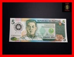 PHILIPPINES 5 Piso 1986 P. 175  *COMMEMORATIVE*  UNC - Filipinas