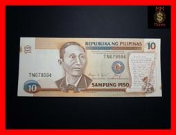 PHILIPPINES 10 Piso P. 169 C  Spots  UNC - Filipinas