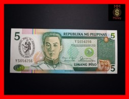 PHILIPPINES 5 Piso 1990 P. 178 A  *COMMEMORATIVE*  UNC - Filippijnen
