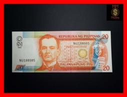 PHILIPPINES 20 Piso 1999 P. 182 C  Black Serial  UNC - Filippijnen