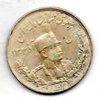 IRAN, 5 Krans (5.000 Dinars), Silver, Year SH 1307 (1928), KM #1106 - Iran
