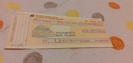 BIGLIETTO TRENO DA MILANO CENTRALE A VERONA PORTA NUOVA 1989 - Railway
