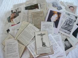 750 DOODSPRENTJES - PRIESTERS - PATERS - BROEDERS- KANUNNIKEN OVERLEDEN VANAF 1940 - Religion & Esotérisme