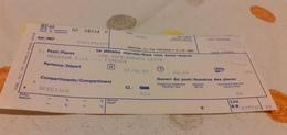 BIGLIETTO TRENO AGENZIA VIAGGI LISCIOTTO  SUPPLEMENTO LETTO DA MESSINA CENTRALE A FIRENZE  1989 - Railway