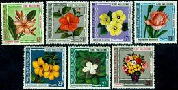 Wallis And Futuna 1973 Flowers,Chinese Hibiscus,Rose,Putant,Mi.247,MNH,CV=$42 - Rosen