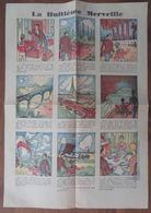 """PHOSPHATINE FALIÈRES: PETIT BD POUR VISITER """"LA HUITIÈME MERVEILLE"""" (ALBANS) VERS 1930 - Advertising"""