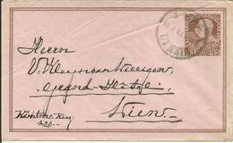 1918  Rohrpost-Umschlag 45 Heller  In Wien - Stamped Stationery