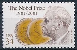 Mi 3444 MNH ** Joint Issue Sweden / Nobel Prize 100th Anniversary - Ungebraucht