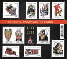 France 2011 BF - Yvert Et Tellier Nr. F4582 - Michel Nr. Klbg.5167/76 ** - Blocs & Feuillets