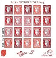 France 2014 BF - Yvert Et Tellier Nr. F4871 - Michel Nr. Zd-Bg. 5942 ** - Blocs & Feuillets