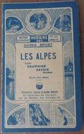 PETIT HORAIRE GUIDES BRICET: LES ALPES ÉTÉ 1931:  DE ANNECY: BATEAUX VAPEUR DU LAC- PLM VERS AIX, LA ROCHE, ALBERTVILLE - Europe