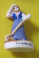Fève Perso Védère -  Métiers Des Pyrénées  La Faneuse - Personen
