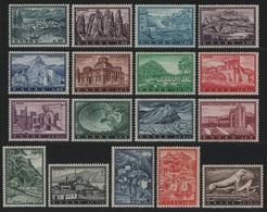 Griechenland 1961 - Mi-Nr. 748-764 ** - MNH - Tourismus - Greece
