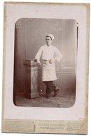 V05x  Photo Cabinet Cuisinier Boucher Boulanger Photographe Vve Soyer à Lyon - Photographs