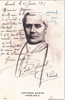 Antonio Sarto Pape Pie X Lourdes 26/01/05 - Papes