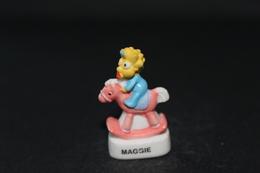 Fève De La Série LE MONDE DES SIMPSON - Maggie - Arguydal 2011 - (Réf. 011) - Cartoons