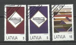 LETTLAND Latvia 1993 Michel 357 - 359 O - Lettland